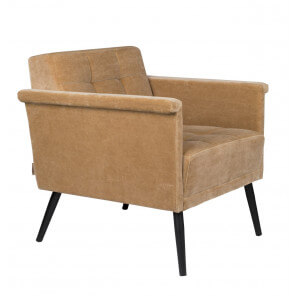 Camel Sir William armchair