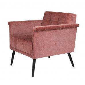 Pink Sir William armchair