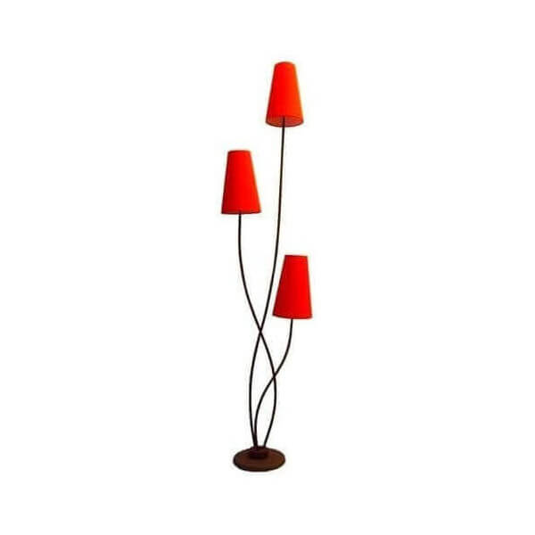 Floor lamps design vintage pop modern colored lamps mathi design - Lampadaire 3 branches ...