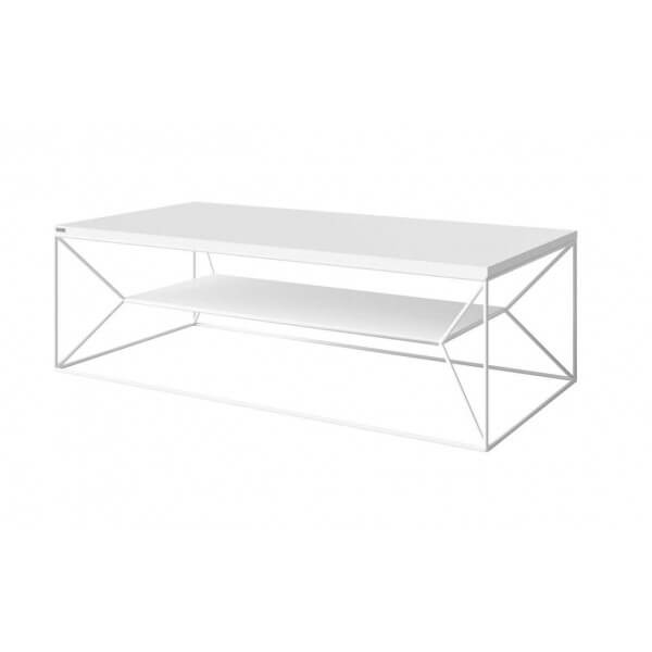 Coffee Table Olawa white steel