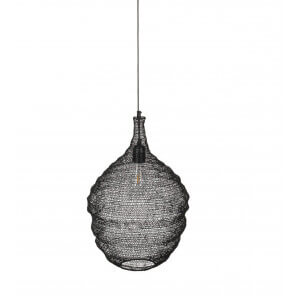 Pendant lamp Maille black