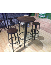 Industrial bistro pub set