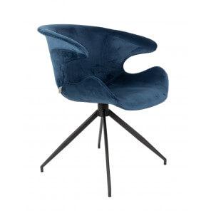 Dining chair Mia in velvet