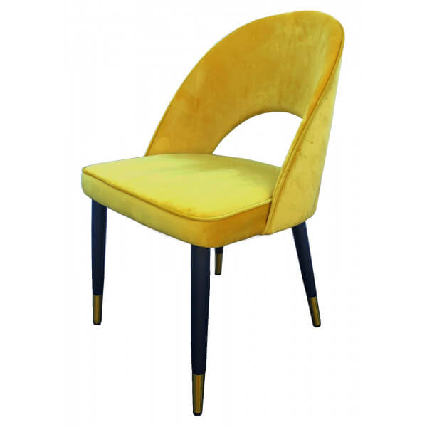 Yellow Artdec chair