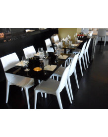 Chaise repas Lypo blanche