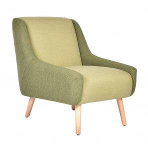 Green arm chair Fifties