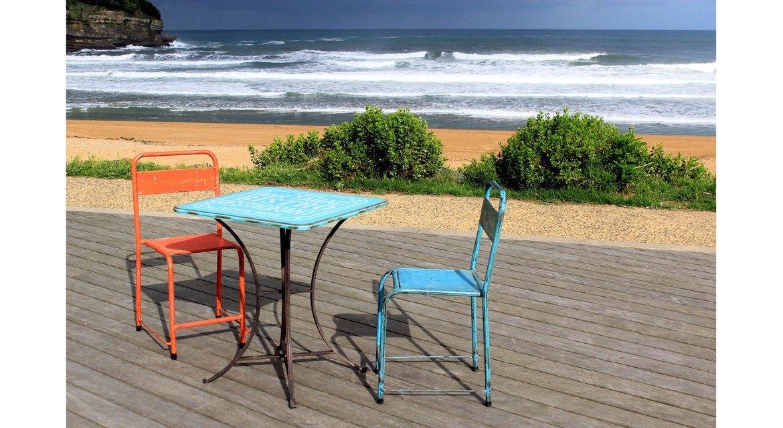 Sélection de chaises, vintages, industrielles, bois, métal